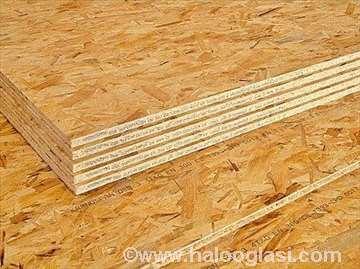 OSB ploče za podašćavanje krovova EGEER 296 din m2