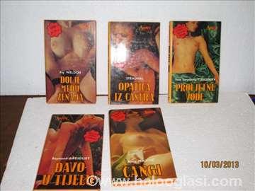 Set od 5 erotskih knjiga iz 1985. godine