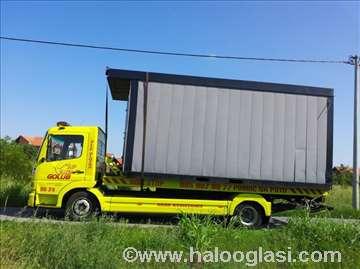 Prevoz građevinskih kontejnera