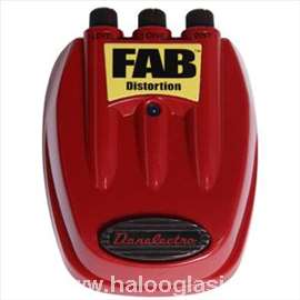 Pedala Danelectro D-1 FAB Distortion