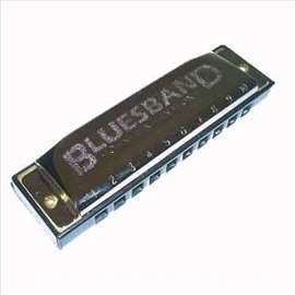 Set usnih harmonika Blues Band Set