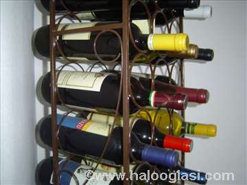 Polica za vino - vinoteka