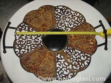 Bakarni ukrasni oval