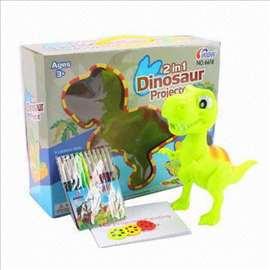 Dinosaurus projektor, novo