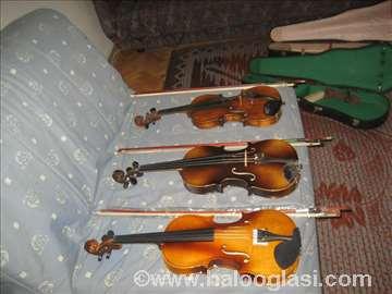 2 violine i gudačka oprema