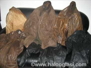 6 muskih kožnih jakni može zamena