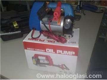 Pumpa za pretakanje goriva, ulja, mleka.