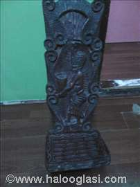 Afrička stolica, duborez