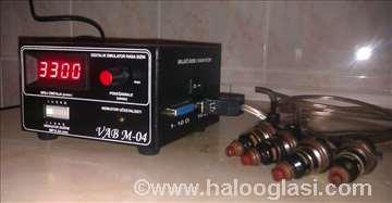 Simulator za ultrazvučno čišćenje dizni