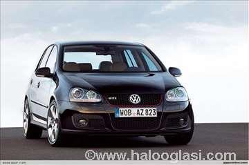 VW Golf 5 GTI novi delovi karoserije