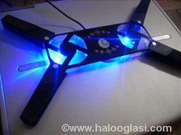 Postolje za laptop sa USB i svetlom