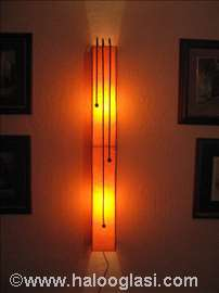 Zidna lampa Aligator