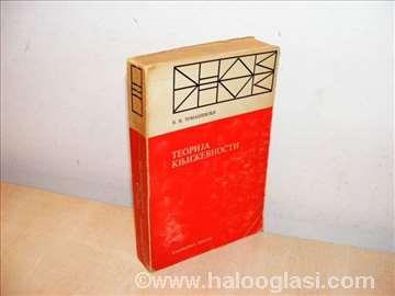 Teorija književnosti Poetika - Tomaševski