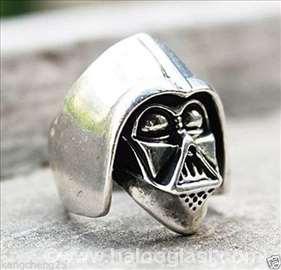 Star Wars Darth Vader Silver Ring Prsten