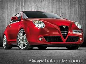 Alfa Romeo Mito 08, ukrasna maska