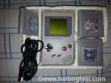 Nintendo GameBoy, 4 igrice, kabl, lupa!