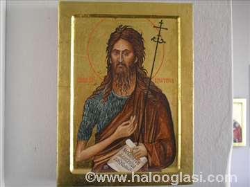 Ikona Sveti Jovan Krstitelj