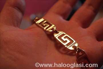 Pozlaćen lanac Versace rad 85 grama