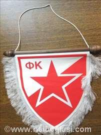 Zastavica FK Crvena Zvezda