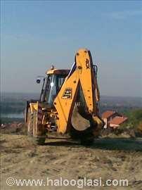 Mašinsko kopanje, rušenje, iskop, čišćenje snega