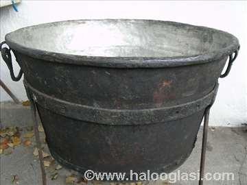 Kazan za topljenje masti 160 litara od bakra