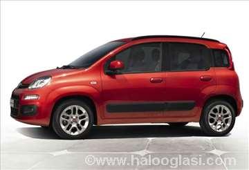 Fiat Panda 2012-, novi delovi karoserije