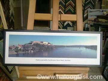 Novi Sad- tvrđava, uramljen foto na platnu