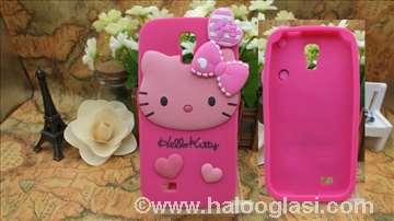 Hello Kitty silikonska futrola za Galaxy S4