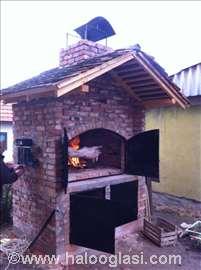 Ugradna pečenjara - mangalo