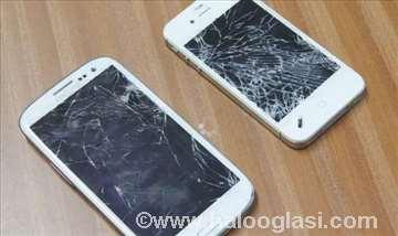 Zamena stakla ekrana za Samsung, iPhone
