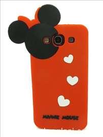 Silikonska futrola Minnie Mouse za S3