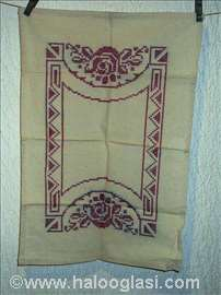 Starinski beli vez, etno ukras