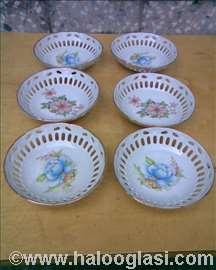 Porculanski ukrasni tanjirići