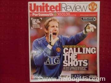 Časopis - United Review iz 2008. godine.