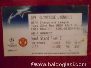 Karta Mancester J. - Olimpik Lion, LS 2004.