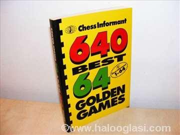 640 najboljih partija 64 zlatne partije