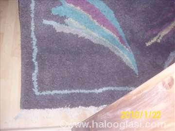 Vuneni tepih,čvorovan