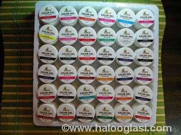 Coco gelovi-36 kom-NHY gelovi 36 boja
