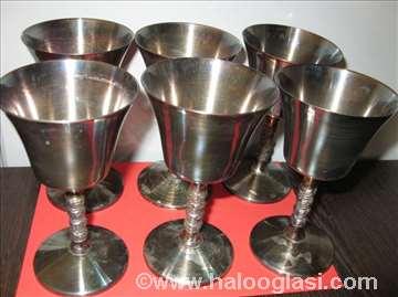 Komplet posrebrenih čaša Famipa Prizren