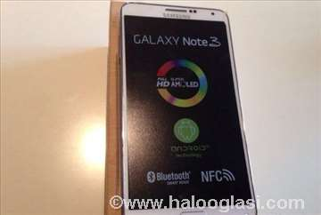 Samsung Galaxy Note 3, beli i crni, novo