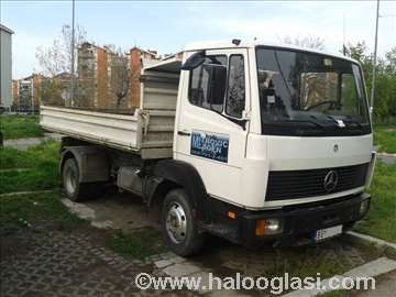 Prevoz robe kamionom kiperom 5t - 3m3
