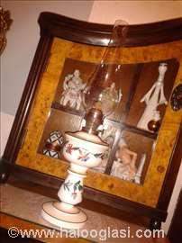 Petrolej stare lampe, ručno oslikane