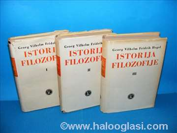 Istorija filozofije 1-3, Georg Vil. Fridrih Hegel