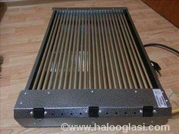 Električni roštilj 4.8kW trofazni-rešetke prohrom