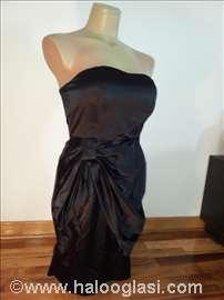 Crna satenska haljina Vero Moda
