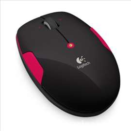 Logitech M345 Wireless Mouse Fire Red