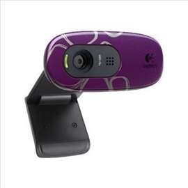 Logitech C270 HD Webcam Purple