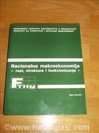 Nacionalna makroekonomija - rast, struktura i funk