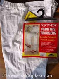 Profesionalne pantalone za molere Portwest