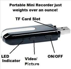 Špijunska oprema-USB mini kamera i bubica